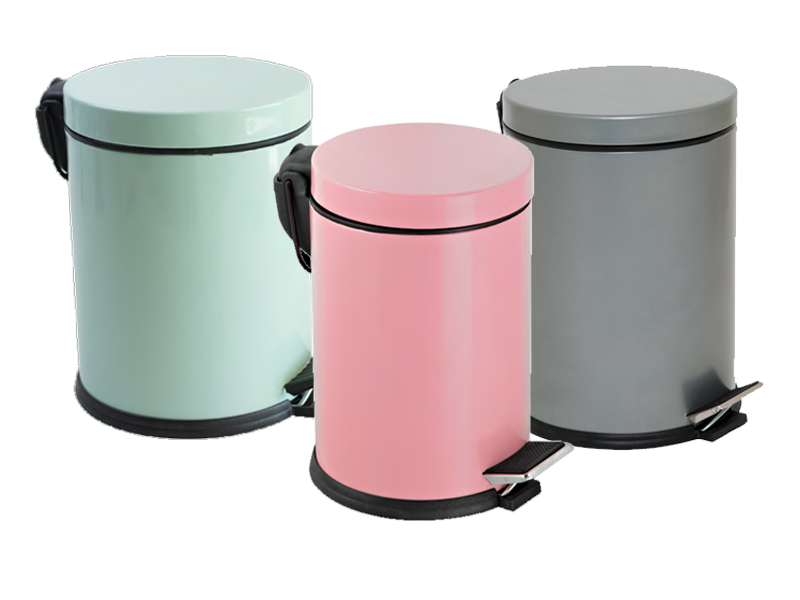Efor Metal Ürün Grubu Colored Dust Bins