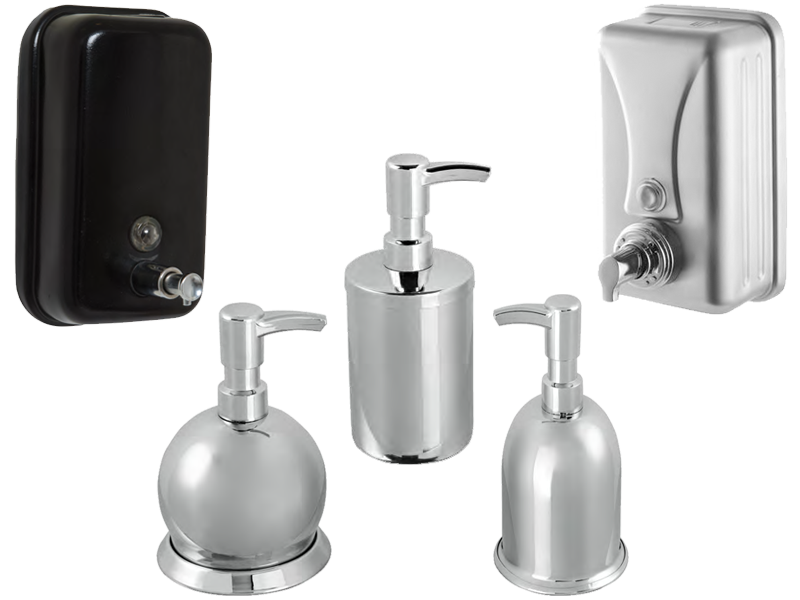Soap Dispensers & Foam Dispensers